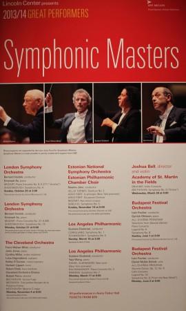 """New Yorgi Lincoln Center' kontserdisarjas """"Symphonic Masters"""" esines ERSO koos maailma orkestrite paremikuga. Foto Maarja Kasema."""